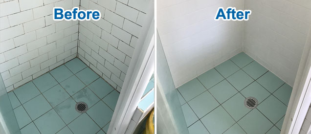 shower tile repairs northern beaches