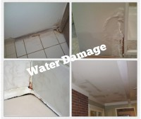 Examples of water damage