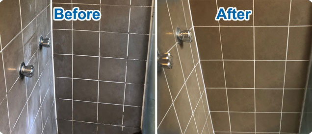 shower grouting