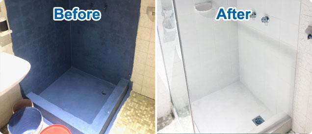 shower resealing