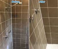 Shower regrouting services