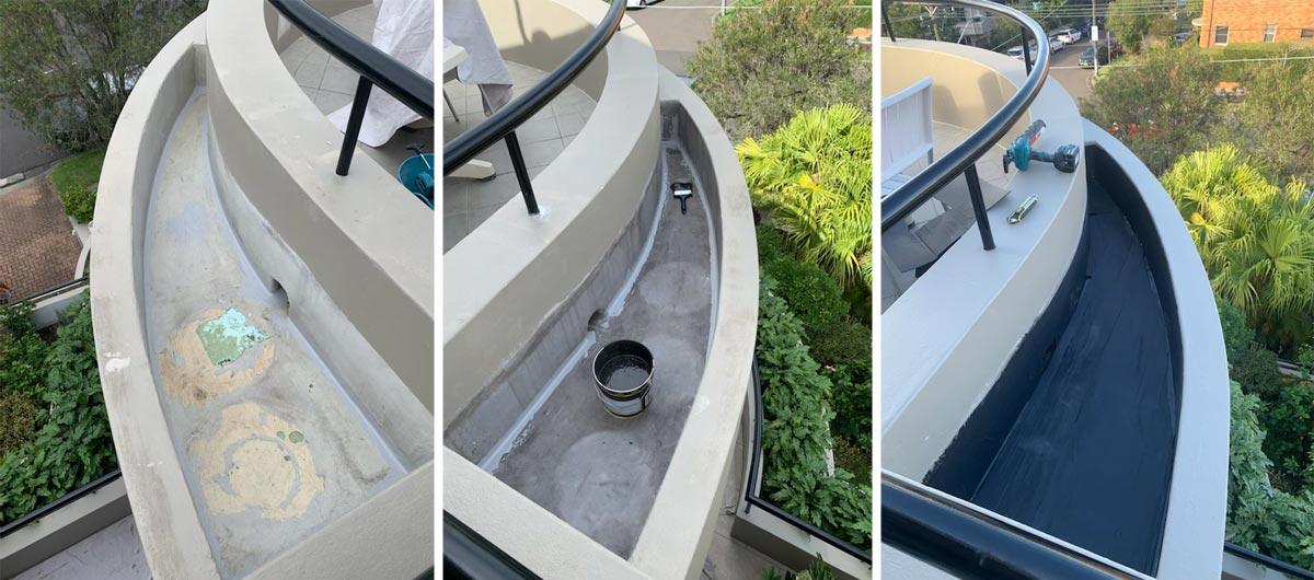 rooftop garden waterproofing