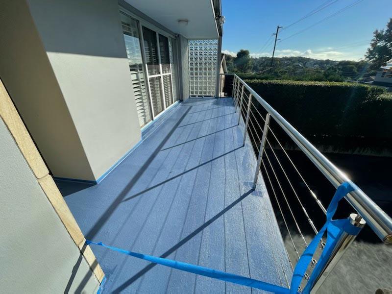 leaking balcony waterproofing north sydney