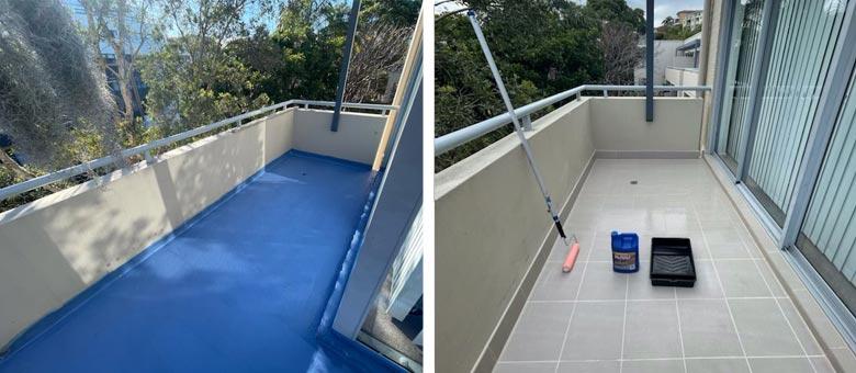 leaking strata balcony repair northern beaches